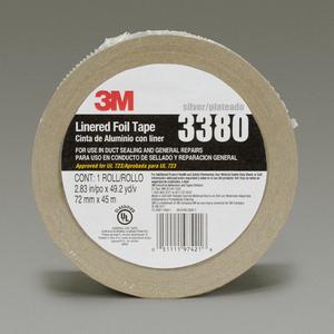 Pack N Tape 3m 3380 2 Mil Aluminum Foil Tape 4 In X 60