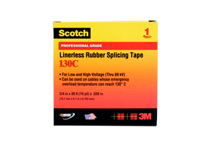 Pack N Tape 3m 130c Scotch Linerless Rubber Splicing