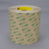 3M 468MP case Adhesive Transfer Tape 468MP Clear, 12 in x 60 yd 5 mil, 4 rolls per case