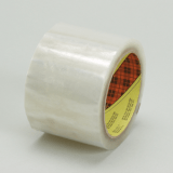 3M 371 Scotch Box Sealing Tape Clear, 48 mm x 914 m, 6 per case Bulk, 1 - pallet
