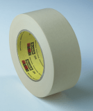 3M 234 General Purpose Masking Tape Tan, 24 mm x 55 m 5.9 mil, 36 per case Bulk