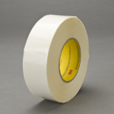 3M 9741 Double Coated Tape Clear, 24 mm x 55 m, 48 rolls per case