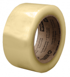 3M 3071 Scotch Recycled Corrugate Box Sealing Tape Clear, 72 mm x 100 m, 24 rolls per case Bulk