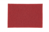 3M 5100 Red Buffer Pad, 12 in x 18 in, 5/case