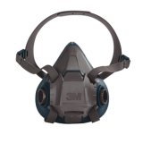 3M 6502 Rugged Comfort Half Facepiece Reusable Respirator/49489, Medium, 10 EA/Case