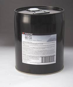 3M 60 CA General Purpose Cylinder Spray Adhesive Clear Low VOC, Jumbo Cylinder (Net Wt. 276 lbs), 1 per case - NOT FOR CONSUMER/RETAIL SALE OR USE