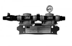 3M™ High Flow Series Twin Manifold Assembly 2XX, 6228505, 1 Per Case