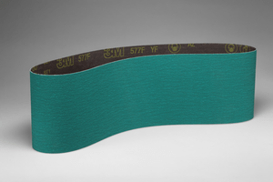 3M 577F Cloth Belt, 6 in x 132 in 36 YF-weight, 10 per case