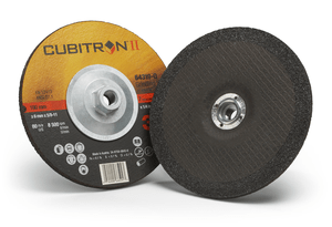 3M 64319-Q Cubitron II Depressed Center Grinding Wheel T27 Quick Change, (64319-Q), 7 in x 1/4 in x 5/8-11 in, 10 per inner, 20 per case