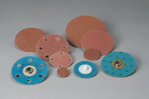 3M 592356 Standard Abrasives Quick Change TR A/O Extra 2 Ply Disc, 1-1/2 in 80, 100 per inner 1000 per case