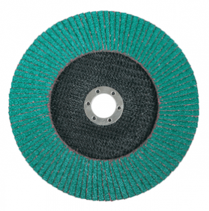3M 645938 Standard Abrasives Zirconia HP Type 27 Flap Disc, 4-1/2 in x 5/8-11 40, 10 per case
