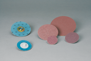 3M 592412 Standard Abrasives Quick Change TR A/O 2 Ply Disc, 2 in 320, 50 per inner 200 per case