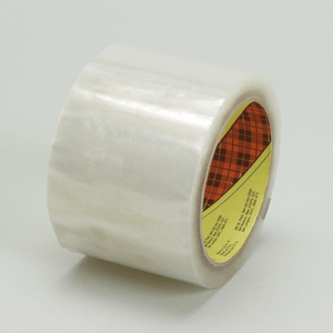 3M 371 Scotch Box Sealing Tape Clear, 48 mm x 914 m, 6 per case Bulk