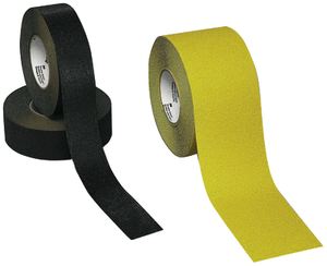 3M 610 Safety-Walk Slip-Resistant General Purpose Tapes and Treads, Black, 6 in x 24 in, Tread, 50/case
