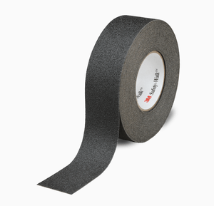 3M 610 Safety-Walk Slip-Resistant General Purpose Tapes and Treads, Black, 2 in x 60 ft, Roll, 2/case