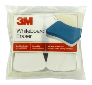3M 581WBE Whiteboard Eraser 581-WBE for Permanent Markers and Whiteboards