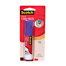 3M 6115 Scotch Purple Glue Stick, .52 oz
