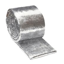 3M 615+ Fire Barrier Duct Wrap Collar+, 1.5 in x 6 in x 25 ft, 4/case