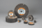3M 612410 Standard Abrasives A/O Flap Wheel, 1-1/2 in x 1 in x 1/4 in 180, 10 per inner 100 per case
