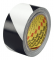 3M 5700 IW Safety Stripe Tape 5700 Black/White, 3 in x 36 yd 5.4 mil, 12 Individually Wrapped Conveniently Packaged