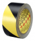 3M 5702 IW Safety Stripe Tape 5702 Black/Yellow, 2 in x 36 yd 5.4 mil, 24 Individually Wrapped Conveniently Packaged
